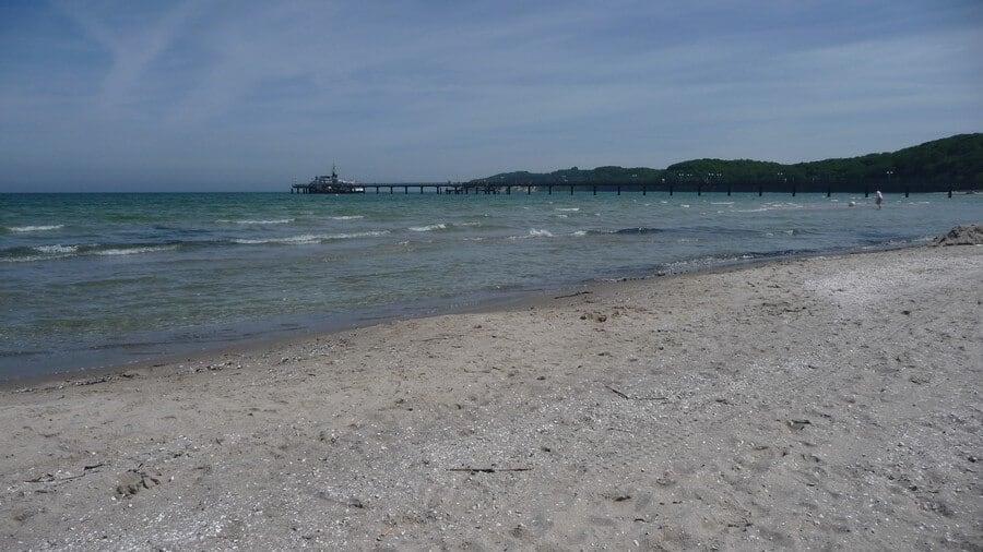 The enemy-sandy beach of BINZ