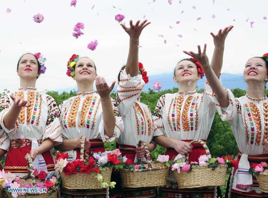 Kazanlak Festival de la rose bulgarien