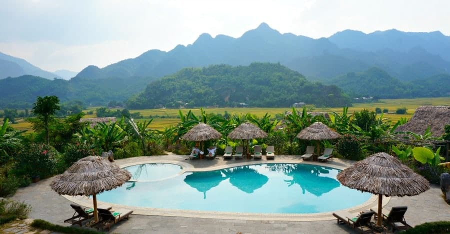Mai Chau Ecolodge Pool