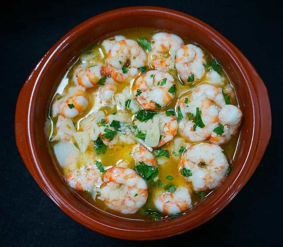 Gambas Al Ajillo Shrimp In Garlic Sauce