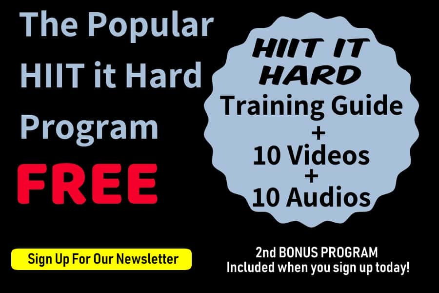 FREE HIIT It Hard Program Newsletter Sign Up Bonus