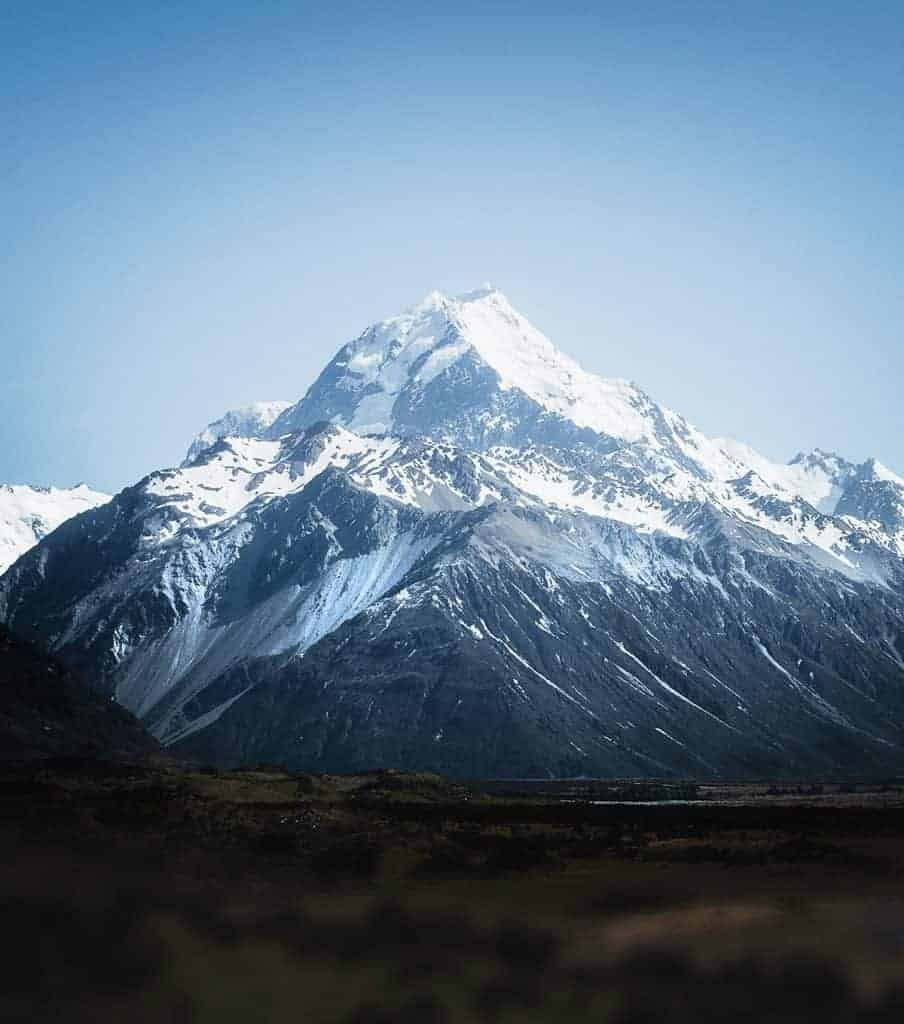 Mount Aoraki New Zealand