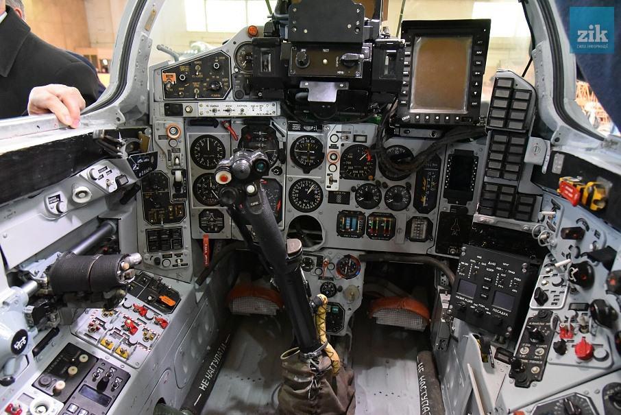 Кабіна МіГ-29МУ2