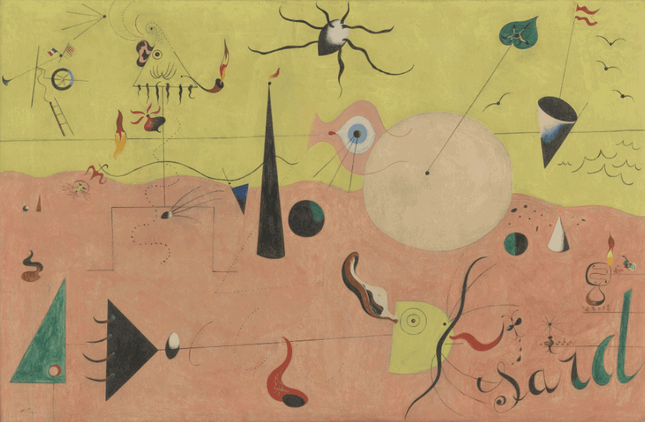 Joan Miró Surrealism Art