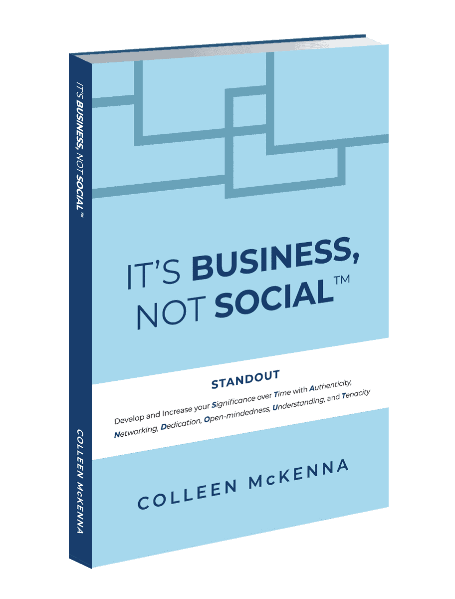 It's Business Not Social Book Cover