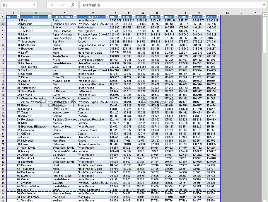 Excel - Mode apercu sauts de page