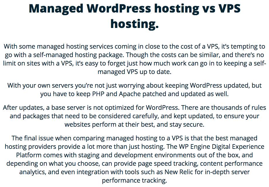 managed wordpress hosting 2020