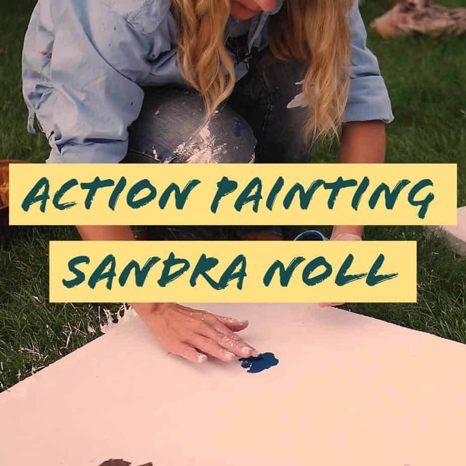 Action Painting-Sandra Noll-WaMa Kollektiv-Interview
