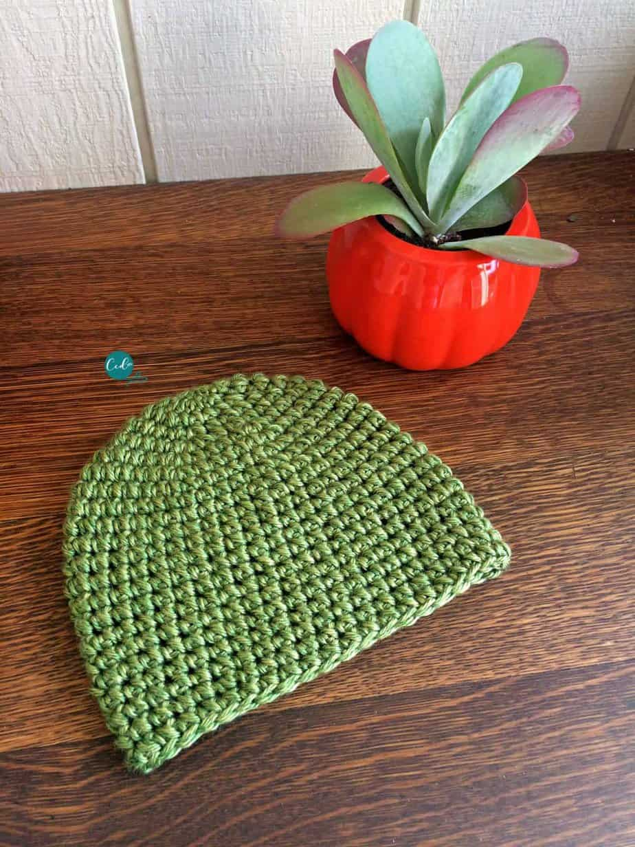 A Crochet Mini Puff Stitch Hat A Free Crochet Pattern