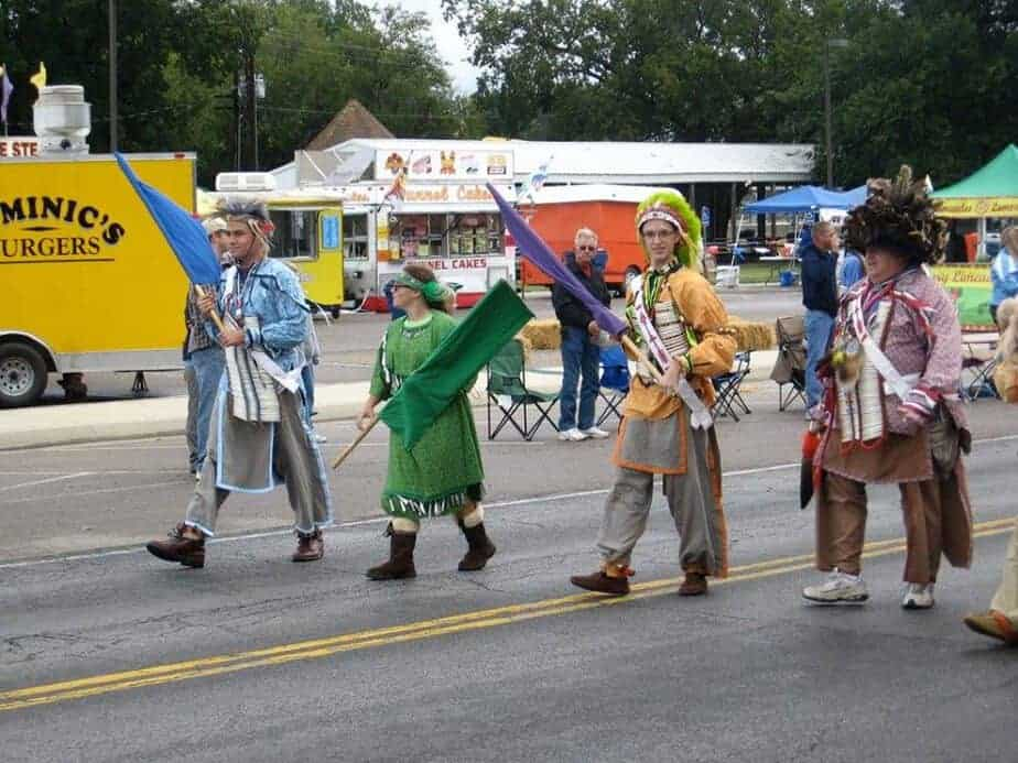Clearwater fall festival parade
