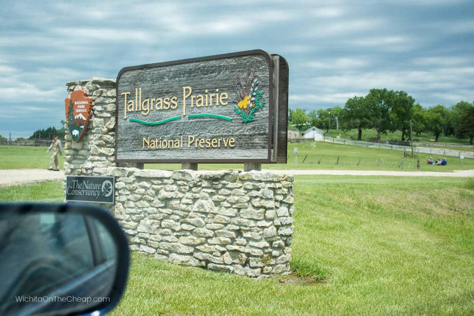 Tallgrass Prairie main entrance