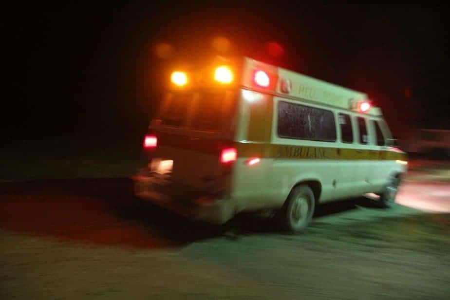 Hellbound Ambulance ride to the Haunted Cannery and Lunatic Asylum