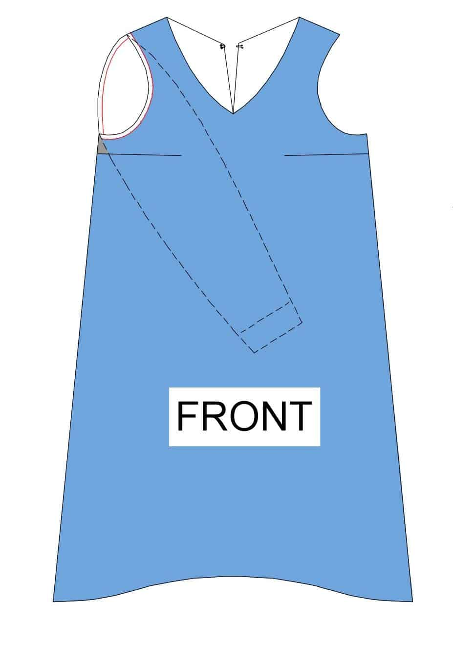 The Tailoress PDF Sewing Patterns - Georgianna Dress Tutorial