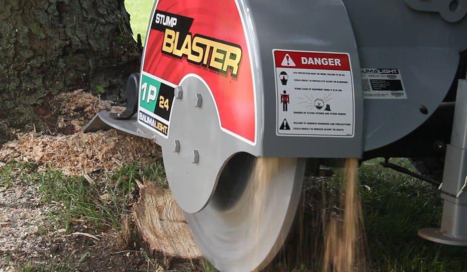 Baumalight 1P24 stump blaster.