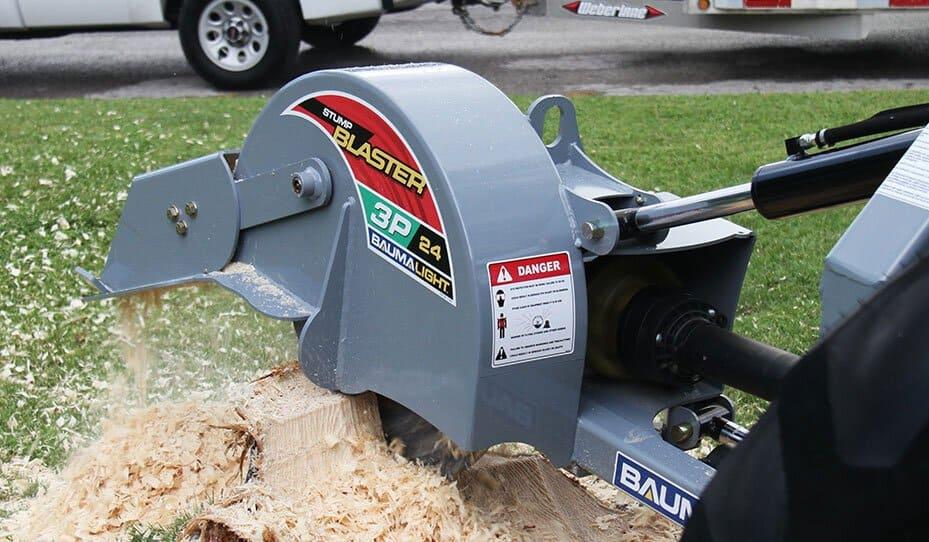 Baumalight 3P24 stump blaster.