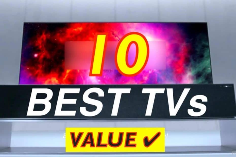 10 Best TVs you can buy on Amazon