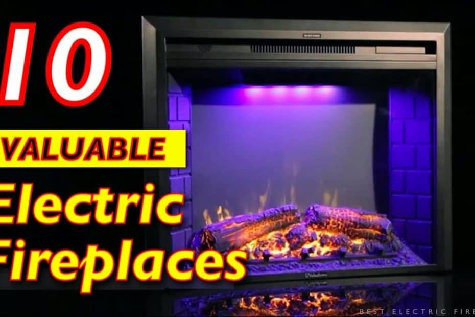 10 Best Value Electric Fireplace Stoves