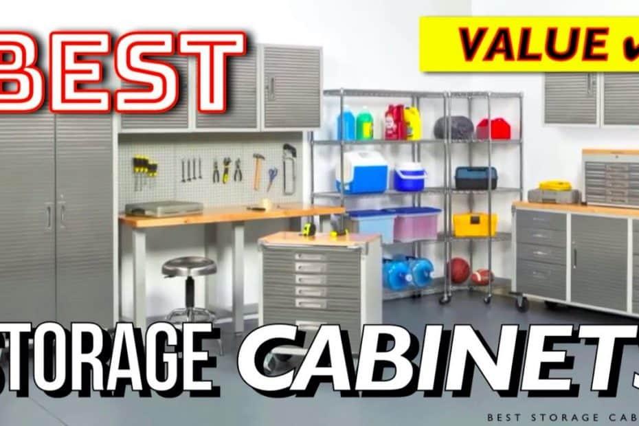 10 Best Storage Cabinets (Office, Garage, Industrial)