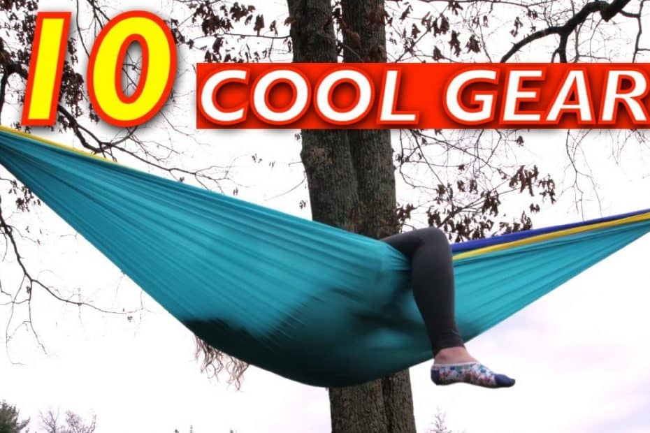 9 COOL Outdoor Camping Gear and Gadgets