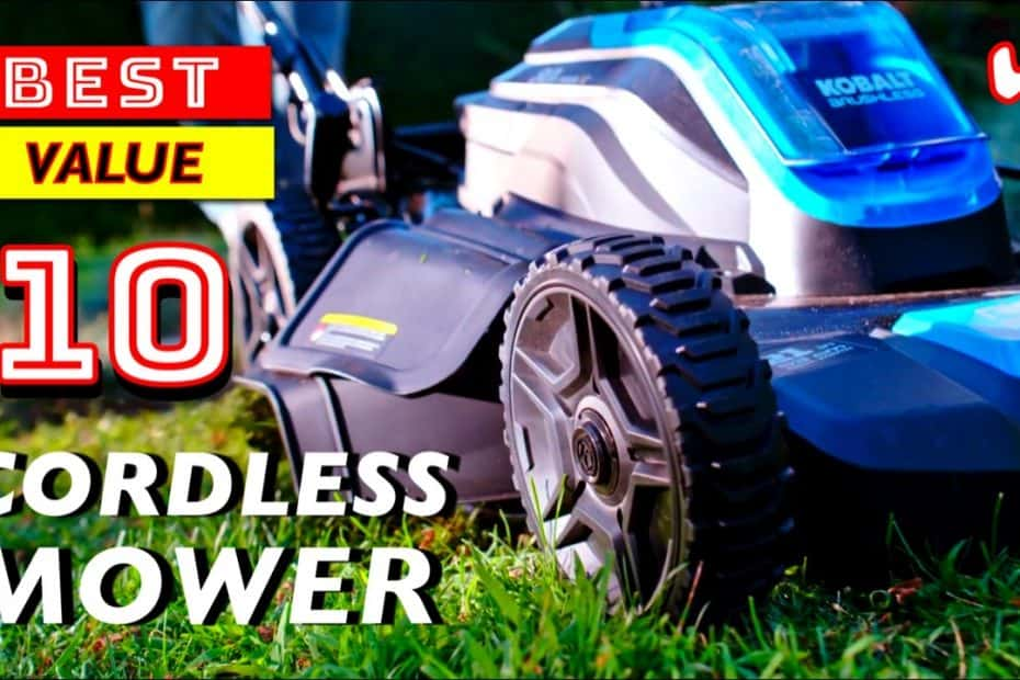 10 Best Cordless Battery Powered Lawn Mowers