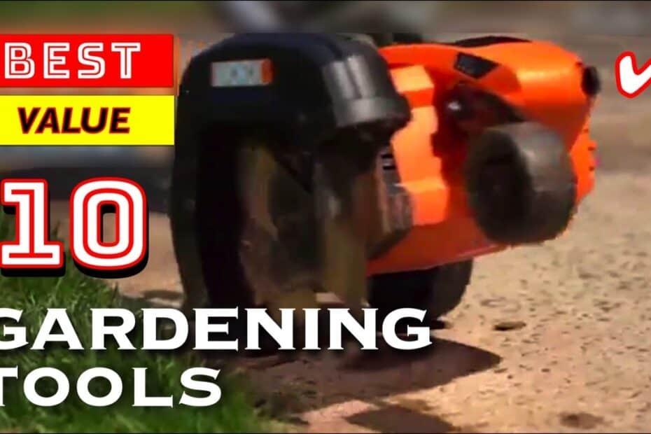 10 Best Value Gardening Tools and Equipment