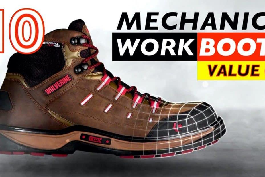 10 Best Value Work Boots for Mechanics