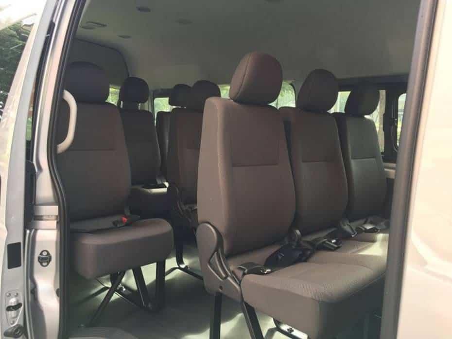Hệ thống ghế xe Hiace