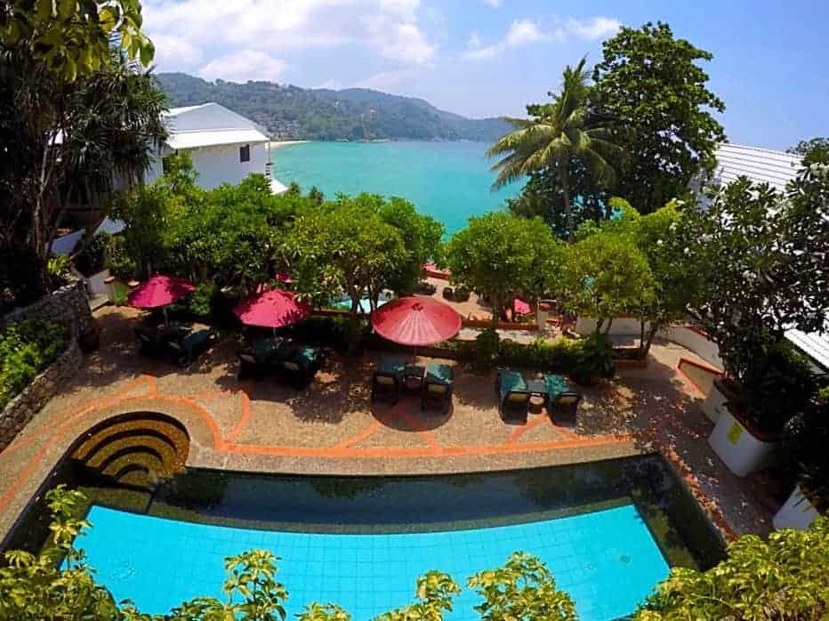 3rd floor freshwater swimming pool Mom Tri's Villa Phuket