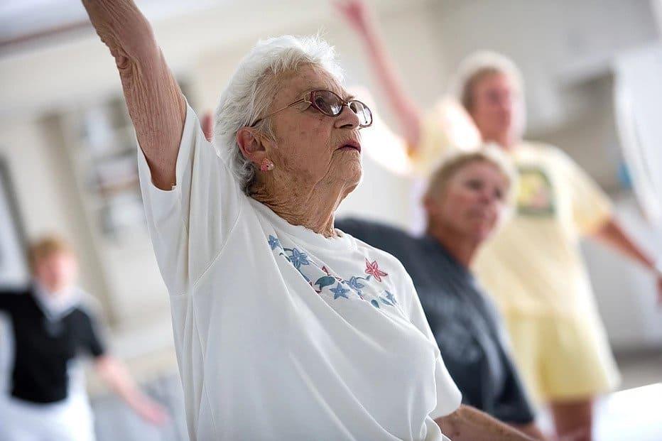 Ćwiczący senior