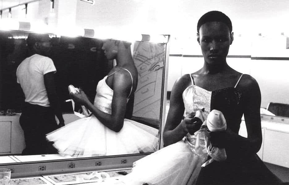 Ming Smith - Untitled (Grace Jones in Ballet Costume) - 1975
