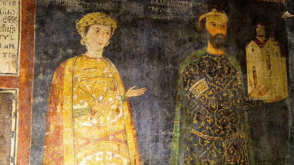 Frescos de la Iglesia de Boyana en Sofía.