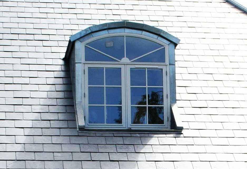Skrå og buede vinduer