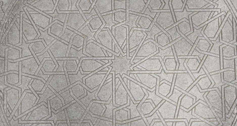 Concrete Mandala Table