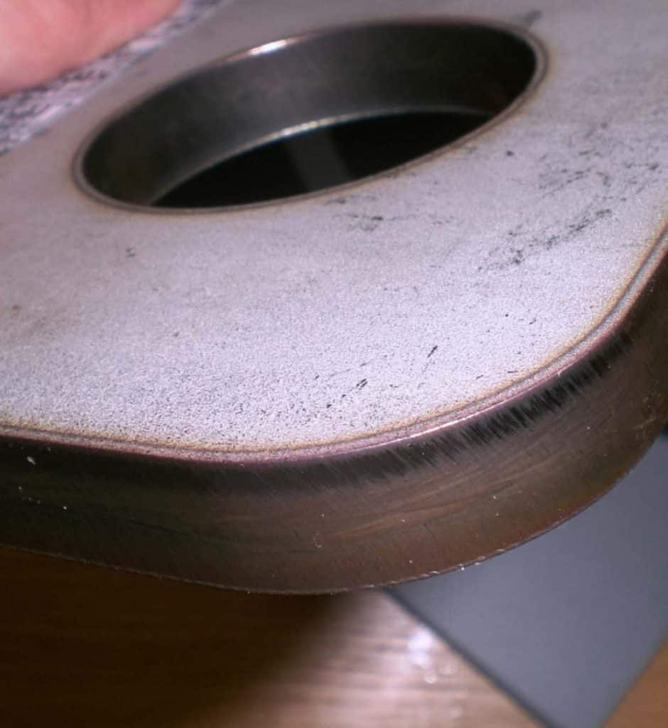 image of cut metal