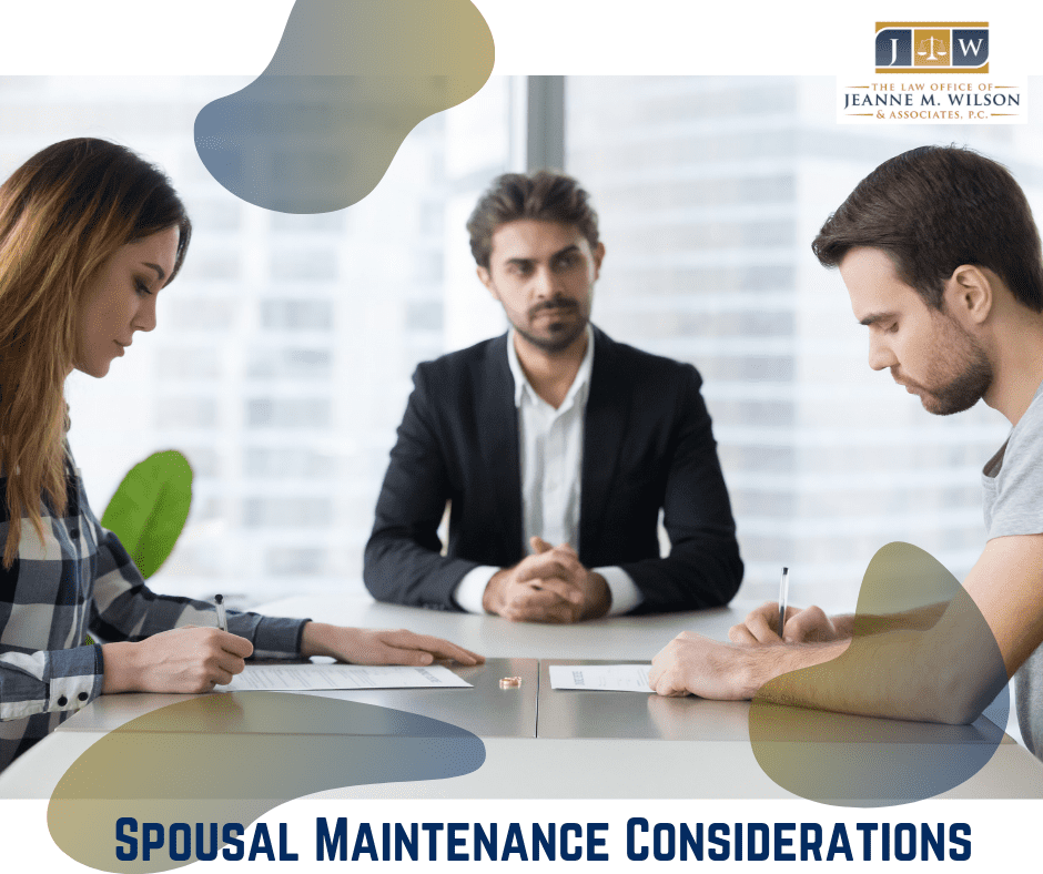 Spousal Maintenance Considerations Colorado Springs