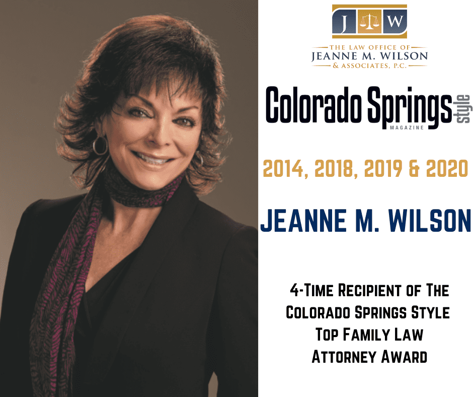 2020 Colorado Springs Style Award for Family Law Attorney