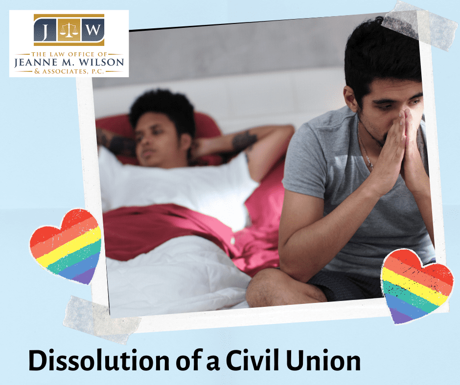 Dissolution of a Civil Union