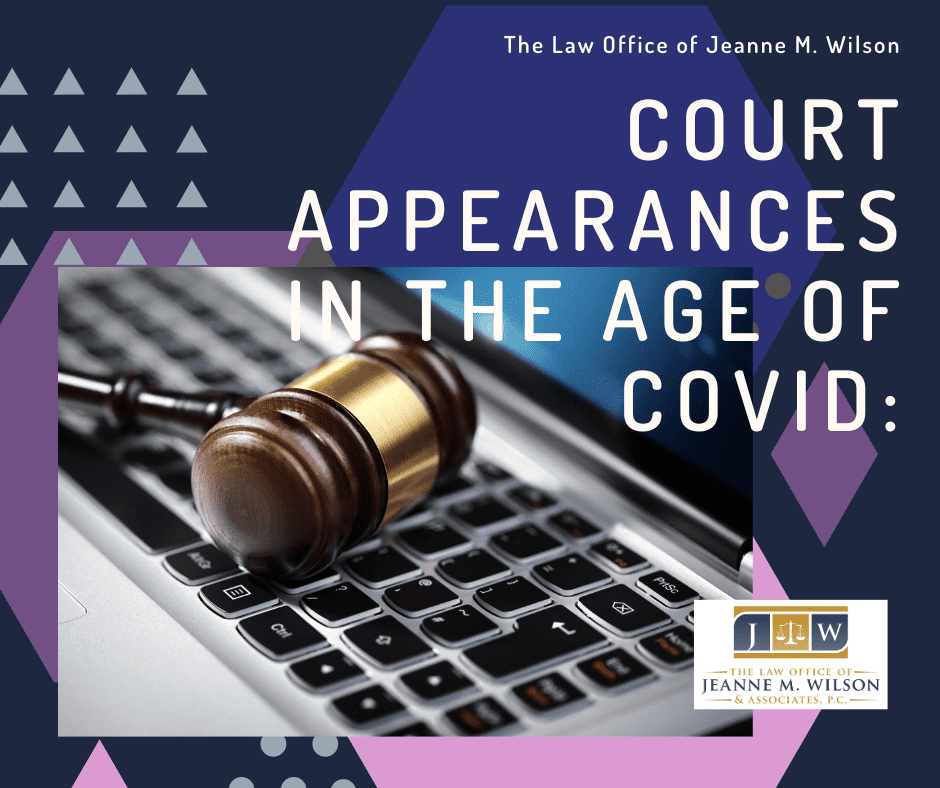 Court Appearances in the Age of COVID