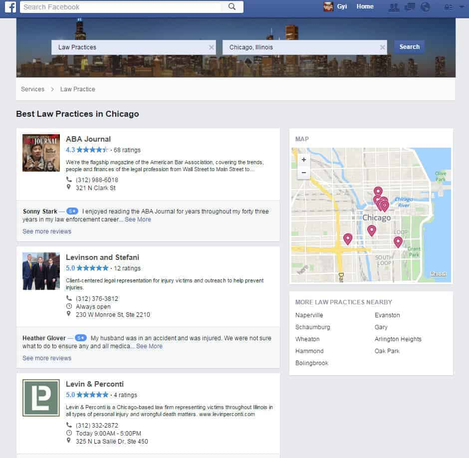 Law Practices in Chicago  Illinois   Facebook