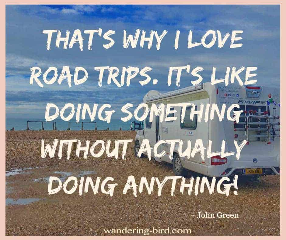 Funny Road trip quotes- looking for more funny and inspirational road trip quotes? Click to read over 50 of the best! #roadtripquotes #roadtrip #couplesroadtrip #funnyquotes #funnyroadtripquotes #quote #funny