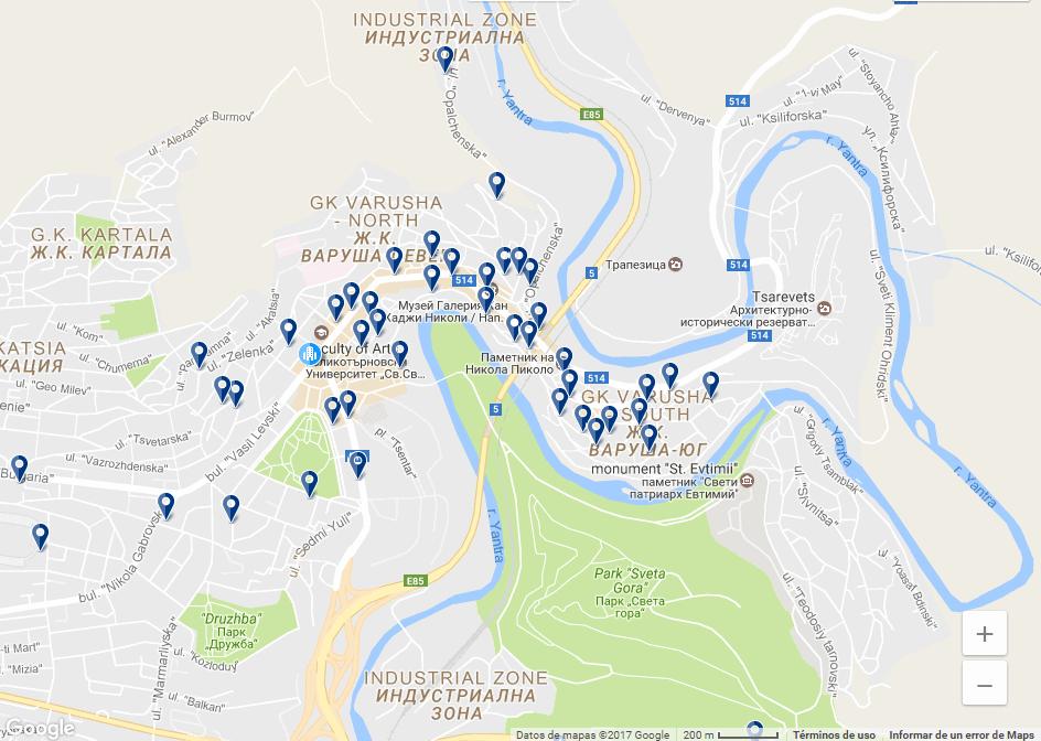 Veliko Tarnovo , on allotjar.