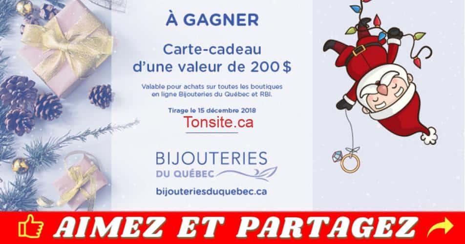 bijouteries qc concours - Concours Bijouteries du Québec: Gagnez une carte-cadeau de 200$