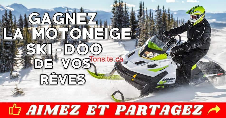 bombardier concours - Concours Bombardier: Gagnez une motoneige Ski-Doo ou un véhicule Can‐Am