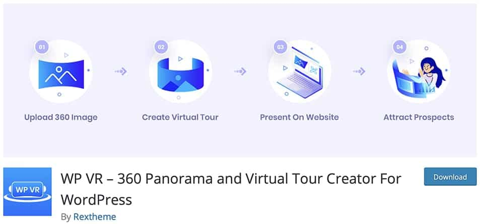 WP VR – 360 Panorama and Virtual Tour Creator For WordPress