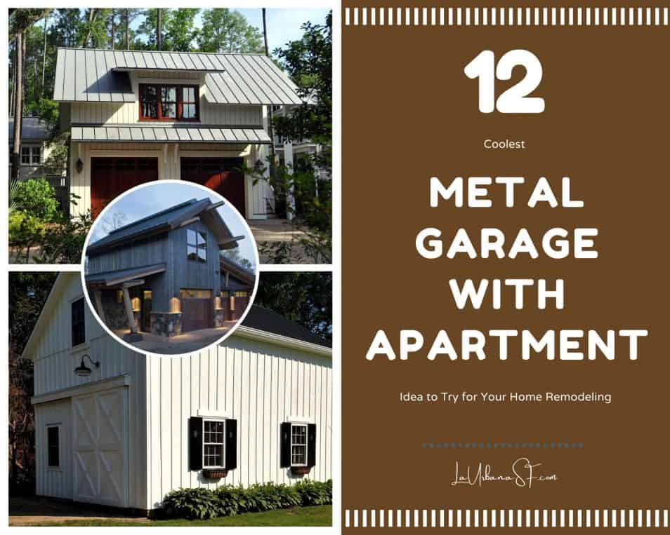 12 Coolest Metal Garage With Apartment Idea To Try For Your Home Remodeling