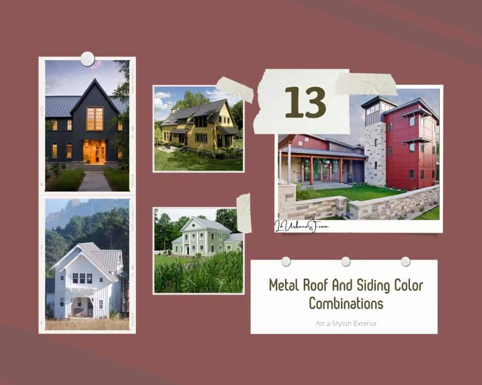 13 Best Metal Roof And Siding Color Combinations For A Stylish Exterior