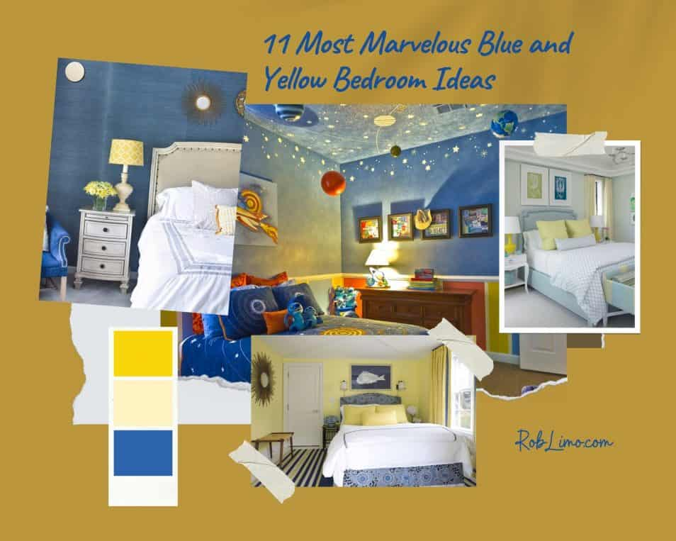 11 Most Marvelous Blue And Yellow Bedroom Ideas For Comfy And Beautiful Sleeping Environment