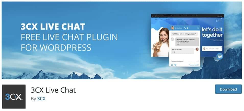3CX Live Chat plugin