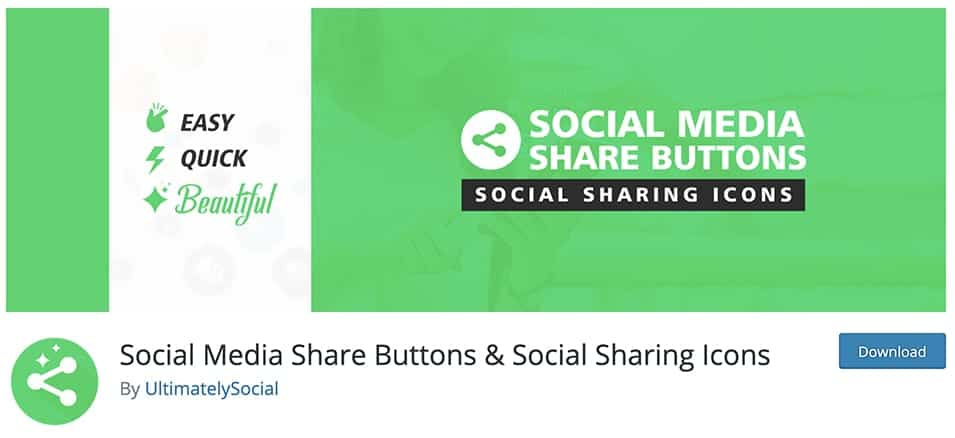 Social Media Share Buttons & Social Sharing Icons