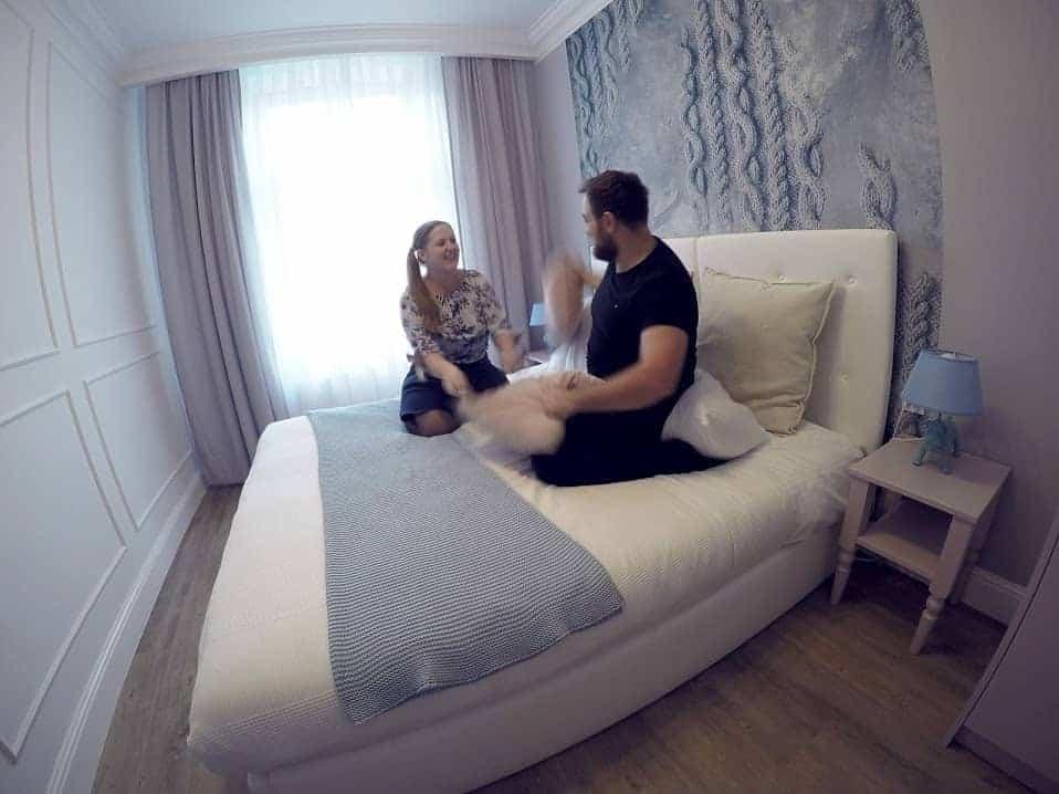 pillow fight hotel Bangkok
